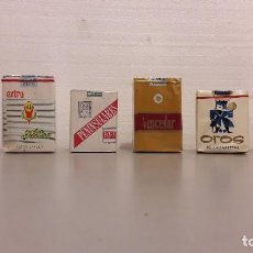 Paquetes de tabaco: LOTE DE TABACO 6 PAQUETES AÑOS 70, 80.. Lote 131007919