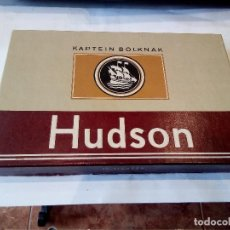 Paquetes de tabaco: CAJA DE PUROS CON 6 PUROS HUDSON. Lote 125215687