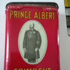 Paquetes de tabaco: PRINCE ALBERT. CRIMP CUT. PIPE AND CIGARETTE TOBACCO. Lote 125217751