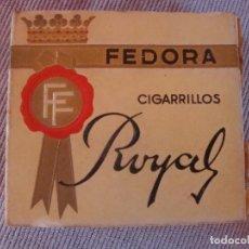 Paquetes de tabaco: FEDORA. Lote 125445103