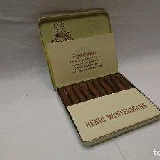 Paquetes de tabaco: CAJA DE 10 HENRI WINTERMANS, CAFÉ CREME. Lote 127007499