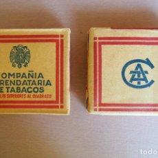 Paquetes de tabaco: PAQUETE 20 CIGARRILLOS COMPAÑIA ARRENDATARÍA DE TABACOS SIN ESTRENAR NUEVO. AGUILA FRANCO. . Lote 127117395