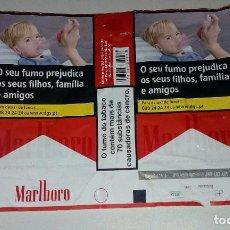 Paquetes de tabaco: ENVOLTÓRIO PAQUETE TABACO MARLBORO.PORTUGAL. Lote 127974551