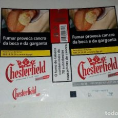 Paquetes de tabaco: ENVOLTÓRIO PAQUETE TABACO CHESTERFIELD RED.PORTUGAL.. Lote 127974679