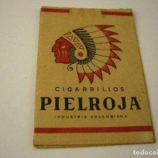 Paquetes de tabaco: PIELROJA .PAQUETE DE TABACO VACIO. COLOMBIA.. Lote 128067771