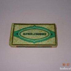 Paquetes de tabaco: ANTIGUO PAQUETE DE TABACO MONTE CRISTO FLOR FINA 4 ONZAS DE ALFRED J. VASQUEZ DE GIBRALTAR. Lote 128492127