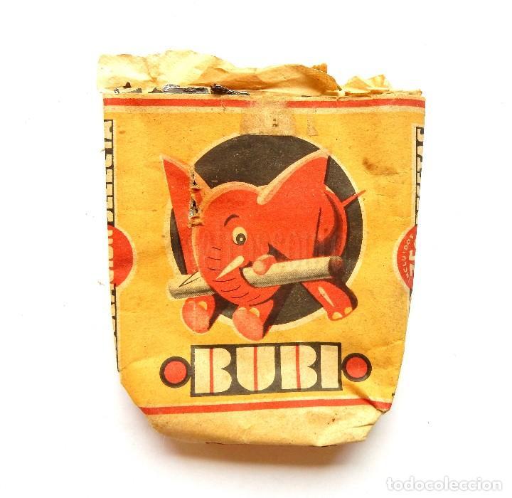 PAQUETE DE TABACO CIGARRILLOS BUBI TABACALERA AÑOS 30 (Coleccionismo - Objetos para Fumar - Paquetes de tabaco)