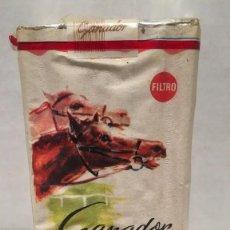 Paquetes de tabaco: ANTIGUO PAQUETE DE TABACO GANADOR. Lote 128824171