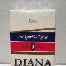 Paquetes de tabaco: PAQUETE DE TABACO DIANA SIN ABRIR. Lote 133679989