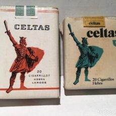 Paquetes de tabaco: PAQUETE DE TABACO CELTAS AÑOS 70 SIN ABRIR. Lote 128825131