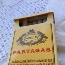Paquetes de tabaco: PAQUETE APARTADAS ABIERTO. Lote 128883483