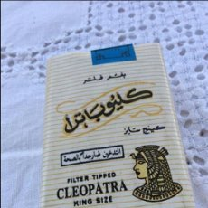 Paquetes de tabaco: PAQUETE CLEOPATRA. Lote 128883687