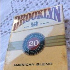 Paquetes de tabaco: PAQUETE BROOKLYN. Lote 128884163