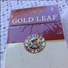 Paquetes de tabaco: PAQUETES GOOL LEAF. Lote 128884351