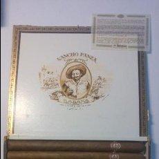 Paquetes de tabaco: ANTIGUA CAJA DE CIGARROS SANCHO PANZA CUESTA Y COMPAÑIA 10 SANCHOS HABANA CUBA. Lote 129262519