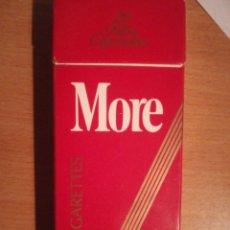 Paquetes de tabaco: MORE 120. Lote 129266246