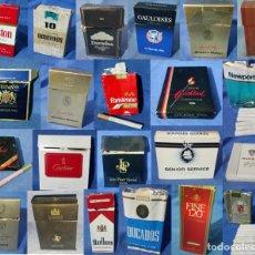 Paquetes de tabaco: COLECCIÓN 22 PAQUETES DE TABACO - DISTINTATS MARCAS - BUEN ESTADO. Lote 130935208