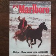 Paquetes de tabaco: RECORTE PRENSA PUBLICIDAD TABACO MARLBORO 28X21 CMS. PAQUETE CIGARROS . Lote 130963444