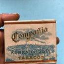 Paquetes de tabaco: (TA-170933)CAJA DE CIGARRILLOS ESPECIALES AL CUADRADO - CIA.ARRENDATARIA DE TABACOS - PRECINTADA. Lote 132157982