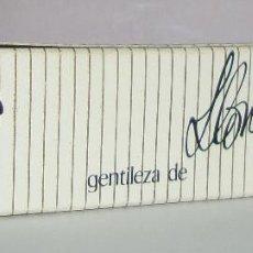Paquetes de tabaco: (TC-130) CURIOSO PAQUETE TABACO 2 CIGARRILLO VACIO KENT PUBLICIDAD LLONGUERAS. Lote 132866826