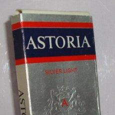 Paquetes de tabaco: (TC-130) CURIOSO PAQUETE TABACO 3 CIGARRILLO VACIO ASTORIA. Lote 132867278