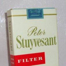 Paquetes de tabaco: (TC-130) CURIOSO PAQUETE TABACO 3 CIGARRILLO VACIO PETER STUYVESANT. Lote 132867322