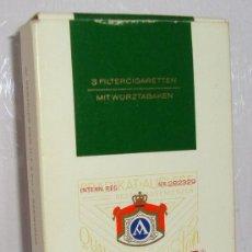 Paquetes de tabaco: (TC-130) CURIOSO PAQUETE TABACO 3 CIGARRILLO VACIO ATIKA. Lote 132873774