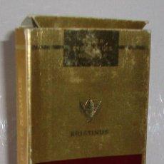 Paquetes de tabaco: (TC-130) CURIOSO PAQUETE TABACO 5 CIGARRILLO VACIO WINDSOR. Lote 132873878