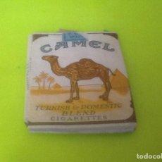 Paquetes de tabaco: CAJETILLA VACIA CAMEL, VER FOTO. Lote 133141130