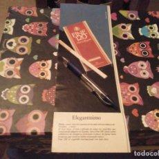 Paquetes de tabaco: ANUNCIO PUBLICIDAD AÑOS 80 PAQUETE TABACO VIRGINIA RUBIO FINE 120. Lote 133417898