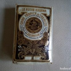 Paquetes de tabaco: *PAQUETE DE PICADURA LA NUEVA HABANA HIJOS DE JUAN REIG. (RF:M5 /B). Lote 133445098
