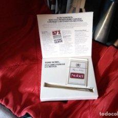 Paquetes de tabaco: CAJA PROMOCIONAL NOBEL. Lote 133502850