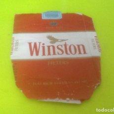 Paquetes de tabaco: CAJETILLA VACIA WINSTON, VER FOTO. Lote 133523930