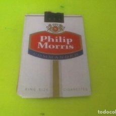 Paquetes de tabaco: CAJETILLA VACÍA PHILIP MORRIS, VER FOTO. Lote 133527954
