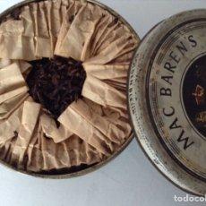 Paquetes de tabaco: MUY ANTIGUA CAJA DE TABACO LLENA MAC BAREN'S. Lote 137471136
