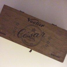 Paquetes de tabaco: VAUTIER CESAR PRESSES CAJA TABACO PUROS CENDRE BLANCHE. Lote 137435489