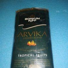 Paquetes de tabaco: TABACO PIPA BORKUM RIFF, CON SABOR DE FRUTA. Lote 138933678