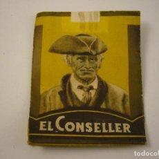 Paquetes de tabaco: EL CONSELLER, TABACS D' ANDORRA , ANTIGUO PAQUETE DE 20 CIGARRETS . VACIO.. Lote 139081370