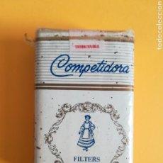 Paquetes de tabaco: PAQUETE DE TABACO COMPETIDORA FILTERS - DOSAL TOBACCO MIAMI FLORIDA TIMBRE PUERTO RICO. Lote 214368001