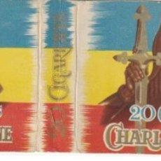 Paquetes de tabaco: ENVOLTORIO PAQUETE DE TABACO CIGARRILLOS CHARLEMAGNE - -C-53. Lote 139748274