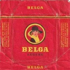 Paquetes de tabaco: ENVOLTORIO PAQUETE DE TABACO CIGARRILLOS BELGA - -C-53. Lote 139748658