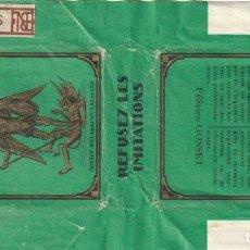 Paquetes de tabaco: ENVOLTORIO PAQUETE DE TABACO CIGARRILLOS SANT MICHEL - -C-53. Lote 139749174