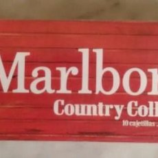 Paquetes de tabaco: MARLBORO - COUNTRY COLLECTION. Lote 140173842