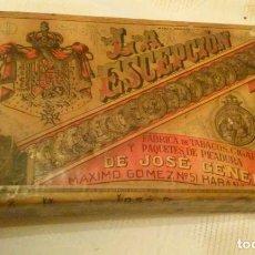 Paquetes de tabaco: LA EXCEPCIÓN (PICADURA SELECTA EXTRAFINA) JOSE GENER-HNOS. DE JOSE GENER (HABANA-CUBA). Lote 142814974