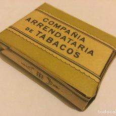Paquetes de tabaco: ANTIGUO PAQUETE DE 14 CIGARRILLOS COMUNES HEBRA DE LA COMPAÑIA ARRENDATARIA DE TABACOS 0,10 PTS . Lote 148096152