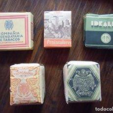Paquetes de tabaco: TABACO. PAQUETES DE PICADURA Y CIGARRILLOS SIN ABRIR, AÑOS 40-50.. Lote 143436046