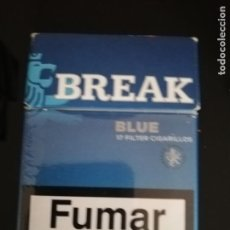 Paquetes de tabaco: BREAK. Lote 143784210