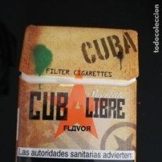 Paquetes de tabaco: CUBA LIBRE. Lote 143784306
