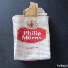 Paquetes de tabaco: PAQUETE VACIO DE TABACO PHILIP MORRIS. Lote 143855530