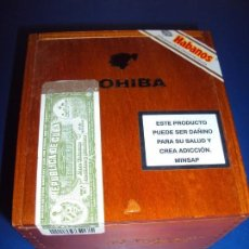 Paquetes de tabaco: (TA-181201)CAJA COHIBA 25 ROBUSTOS - HABANA - CUBA - SIN ABRIR - PRECINTADA. Lote 143866138